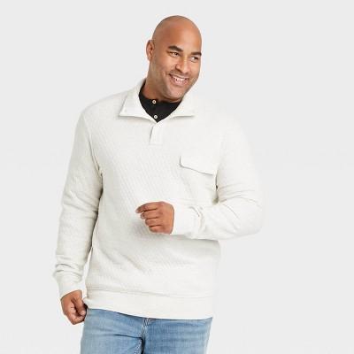 Men's 1/4 Snap Standard Fit Sweatshirt - Goodfellow & Co™