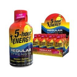 5 Hour Energy Shot - Pink Lemonade - 12ct
