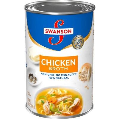 Swanson 100% Natural Chicken Broth 14.5oz