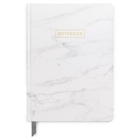 "Lined Journal 5""x 7.25"" Marble with Gold Foil - DesignWorks Ink - image 1 of 1"