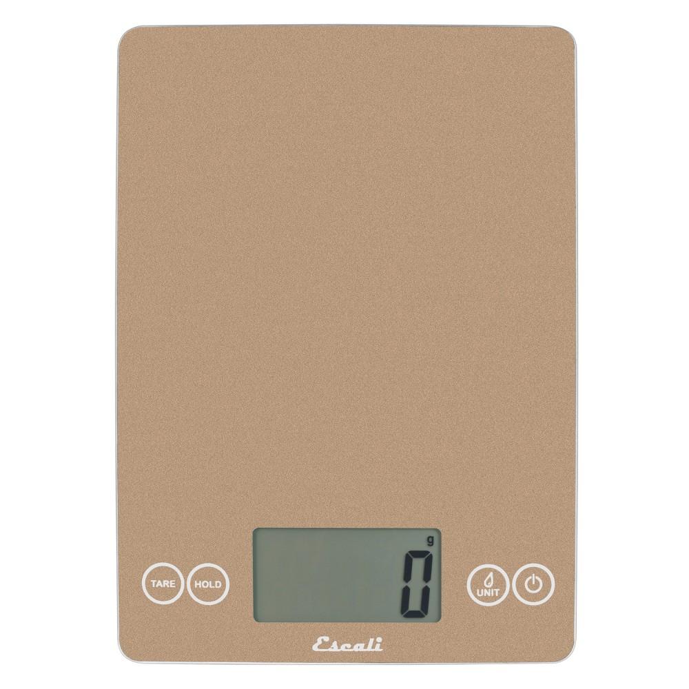Image of Escali Digital Food Scale Tan, Beige