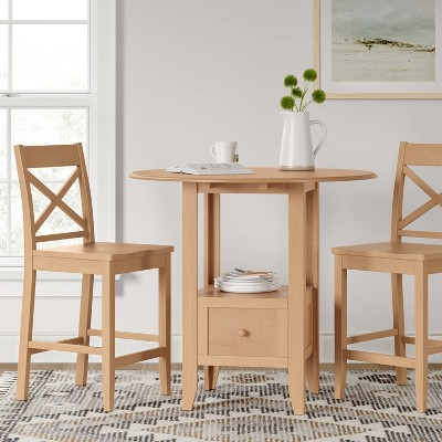 3pc Storage Dining Table Set - Threshold™ : Target