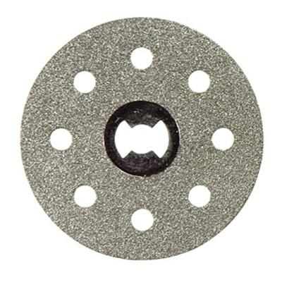 Dremel EZ545 1.5 Inch Diameter EZ Lock Mandrel Hard Materials Diamond Cutting Wheel Saw Blade for Tile, Ceramic, Concrete, Brick, and Marble, Silver