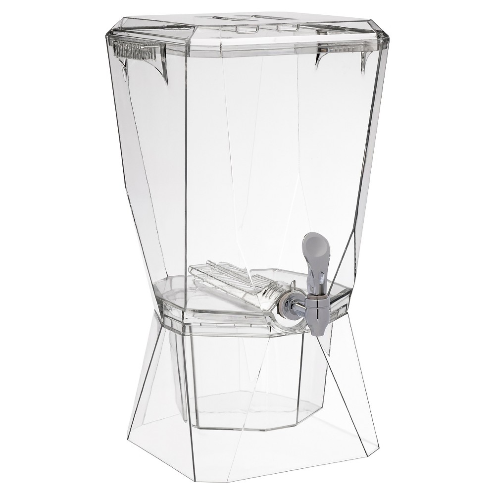 Image of CreativeWare 3.5gal Acrylic Beverage Dispenser - Clear
