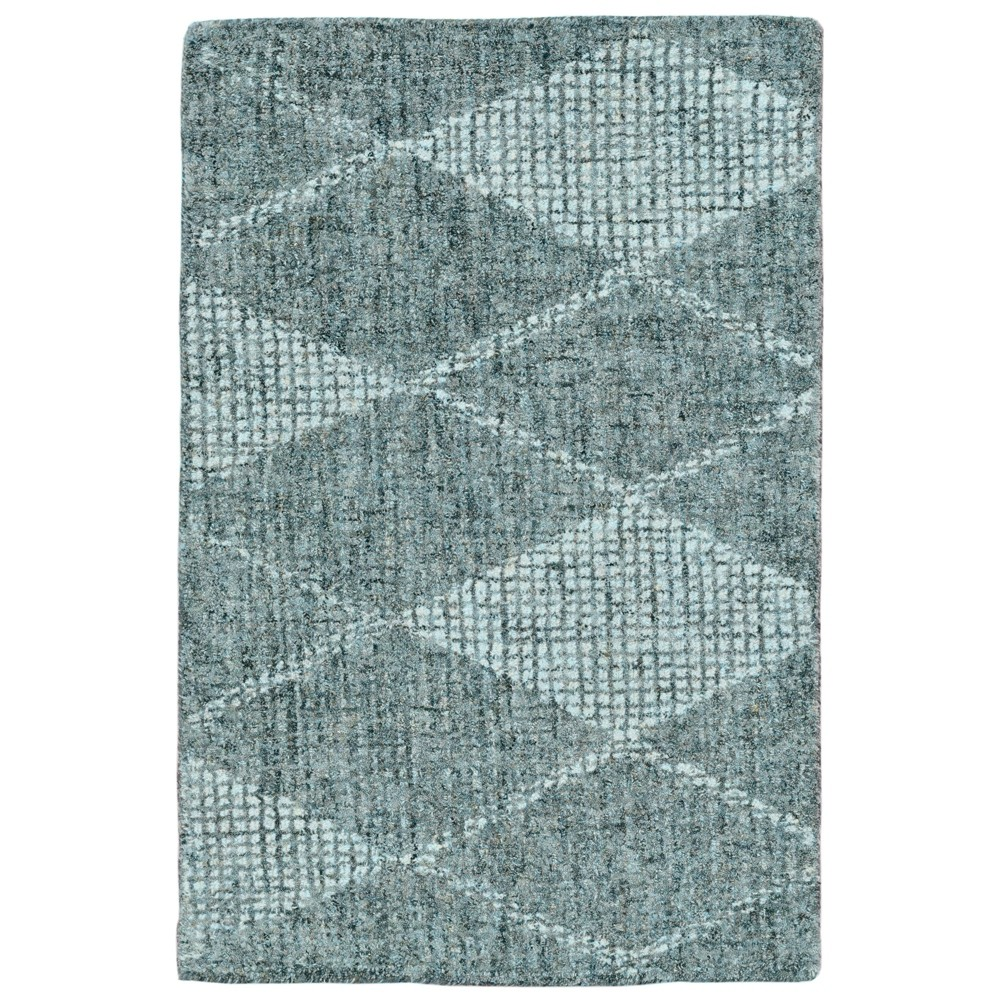 2'X3' Diamond Tufted Accent Rug Green - Liora Manne