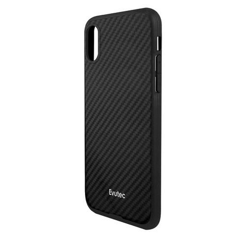 low priced 26ebc bd3e7 Evutec Apple iPhone X/XS Karbon Case with Car Vent Mount - Black