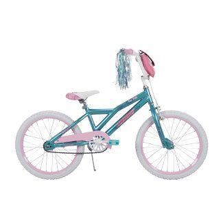 "Huffy Too Fab 20"" Kids Bike - Metallic Blue/Pink"