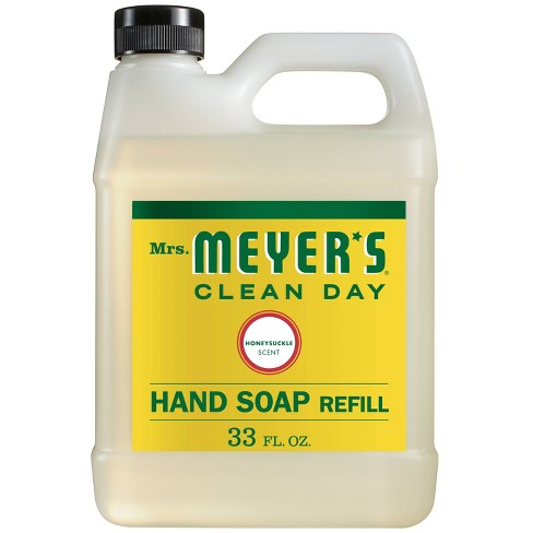 Mrs. Meyer's Honeysuckle Liquid Hand Soap Refill - 33 fl oz - image 1 of 4
