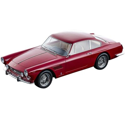 """1962 Ferrari 250 GTE 2+2 Rosso Corsa Red """"Mythos Series"""" Limited Edition to 160 pieces Worldwide 1/18 Model Car by Tecnomodel"""