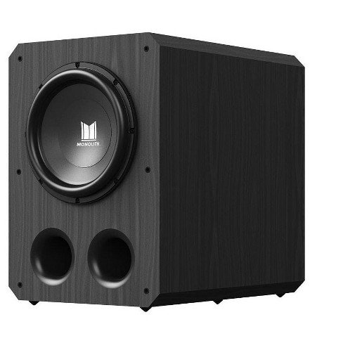 Monolith 12 Inch Powered Subwoofer - Black   THX Select Certified, 500 Watt Amplifier, 12 Inch Driver For Studio & Home Theater - image 1 of 4
