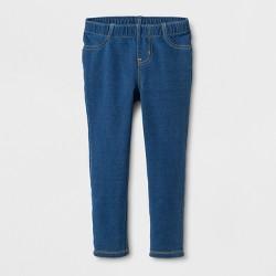 Toddler Girls' Leggings - Cat & Jack™ Indigo Blue