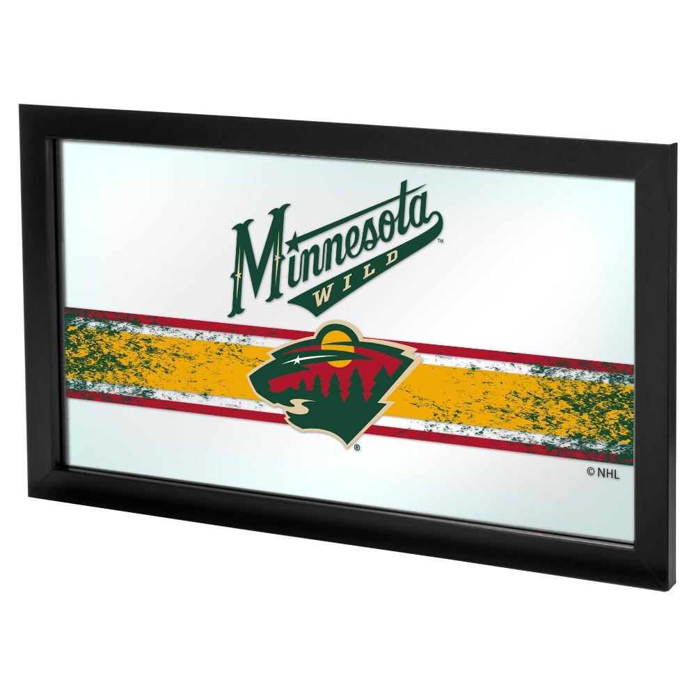 NHL Minnesota Wild Framed Logo Mirror