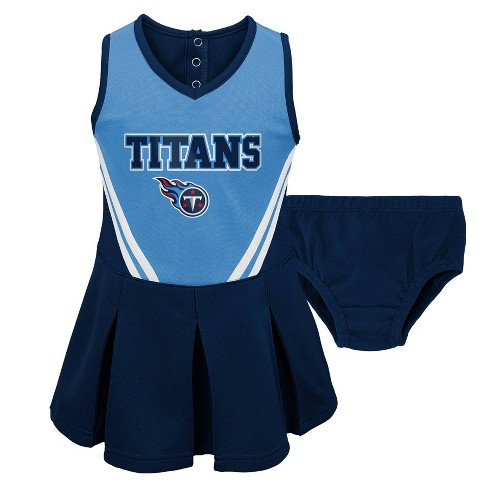 aa23dbe9 NFL Tennessee Titans Toddler Girls' In the Spirit Cheer Set