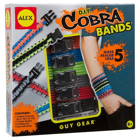 ALEX Toys DIY Cobra Bands Bracelet Kit - image 1 of 4