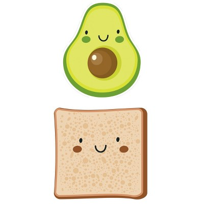Avocado and Toast Placement Set of 2 - A & A Story