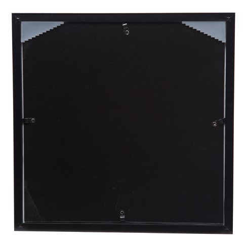 Single Image 12x12 Wide Double Mat Black 8x8 Frame Gallery