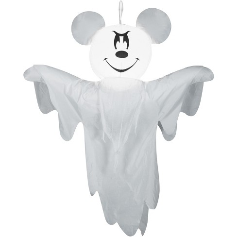 Gemmy Airblown Hanging Mickey as Ghost Disney, 4 ft Tall, white - image 1 of 2