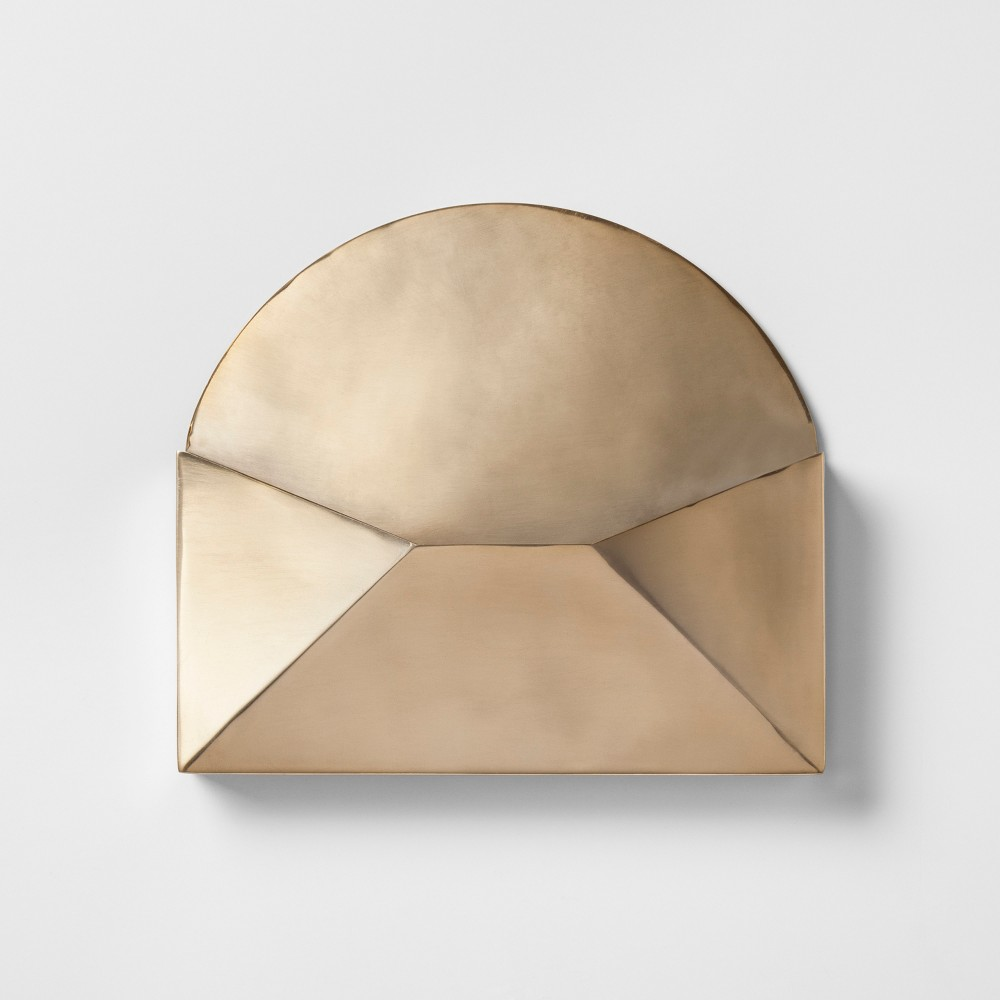 Image of Decorative Gold Envelope 2 X 10.5 X 12 - Project 62
