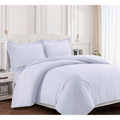 Valencia Microfiber Oversized Duvet Cover Set - Tribeca Living