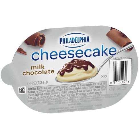 Philadelphia Milk Chocolate Cheesecake - 6.5oz - image 1 of 3