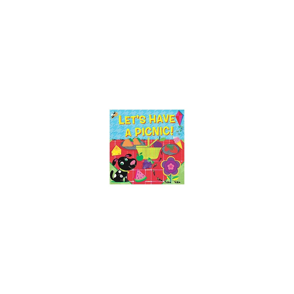 Let S Have A Picnic Fluorescent Pop By Hunter Reid Board Book
