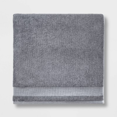 Solid Bath Sheet Dark Gray - Made By Design™