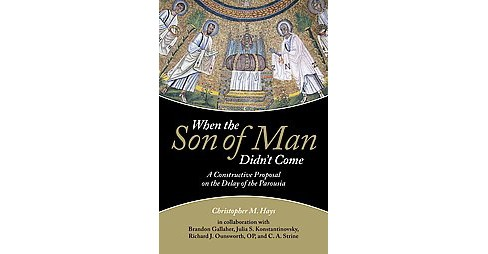 When the Son of Man Didn't Come : A Constructive Proposal on the Delay of the Parousia (Hardcover) - image 1 of 1