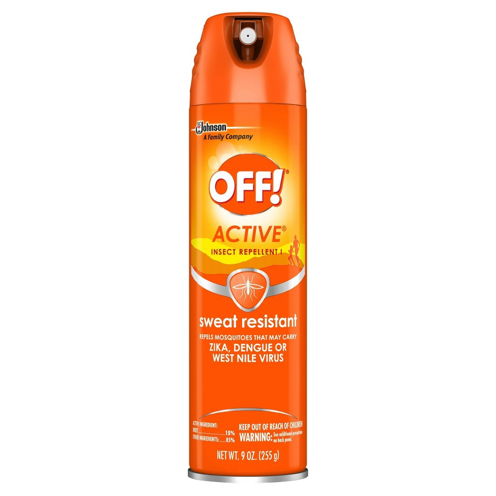 Image of OFF! 9oz Active Insect Repellent