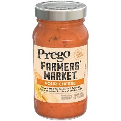Prego Farmers' Market Four Cheese Pasta Sauce - 23.5oz