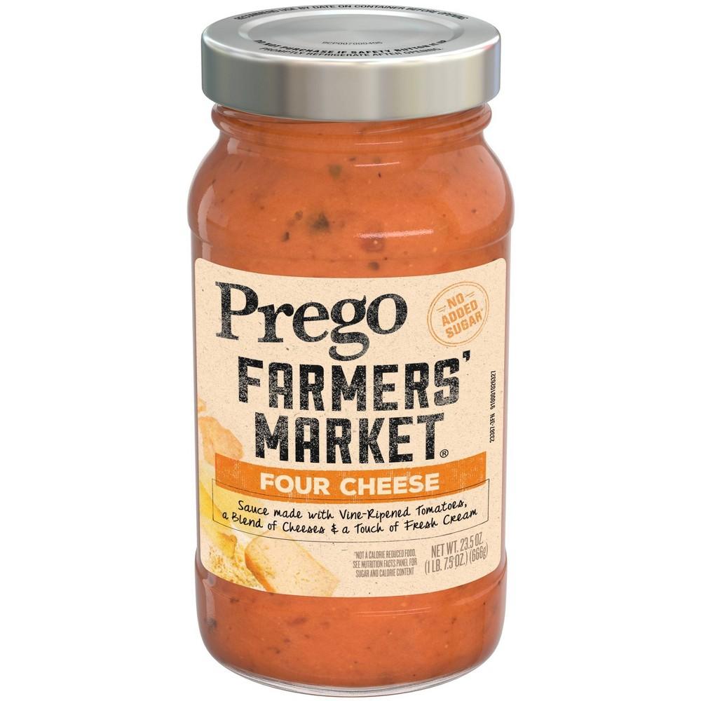 Prego Farmers 39 Market Four Cheese Pasta Sauce 23 5oz