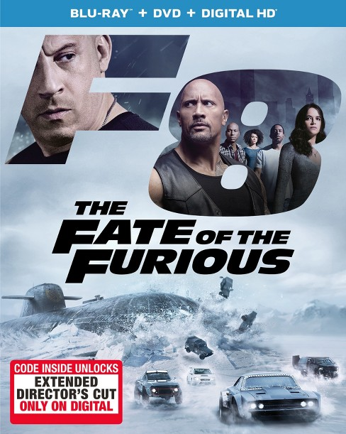 The Fate of the Furious (Blu-ray + DVD + Digital HD) - image 1 of 1
