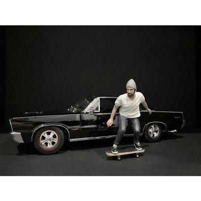 Skateboarder Figurine II for 1/18 Scale Models by American Diorama