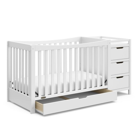 Graco Remi 4-in-1 Convertible Crib and Changer - image 1 of 4