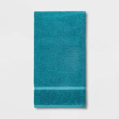 Performance Texture Bath Sheet Turquoise - Threshold™