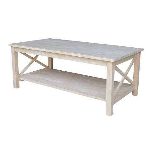 Hampton Coffee Table - International Concepts - image 1 of 7