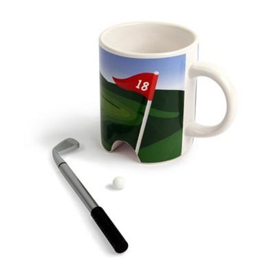 8oz Golf Putter Drinkware Mug