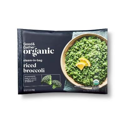 Organic Frozen Riced Broccoli - 10oz - Good & Gather™