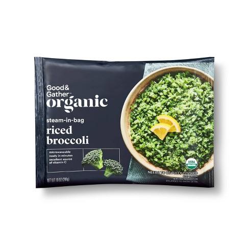 Organic Frozen Riced Broccoli - 10oz - Good & Gather™ - image 1 of 2
