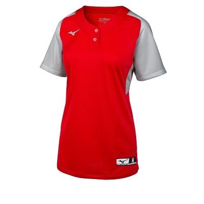 Mizuno Women's Aerolite 2-Button Softball Jersey