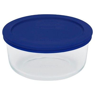 Pyrex Storage Plus 4cp Round- Cadet Blue