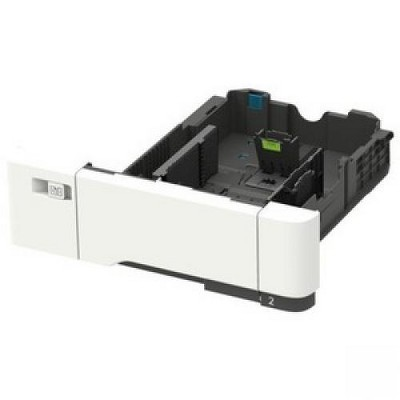 Lexmark 650-sheet Duo Tray - 1, 1 x 550, 100 Sheet, Sheet - Plain Paper, Transparency, Card Stock, Label, Envelope
