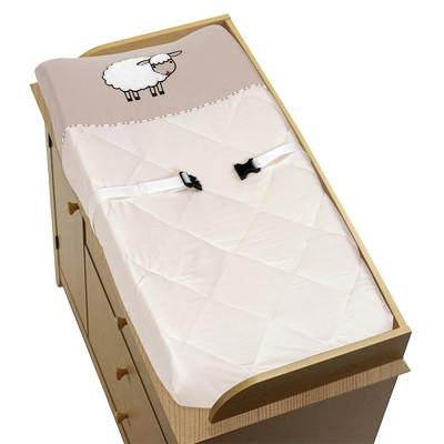 Sweet Jojo Designs Lamb Changing Pad Cover