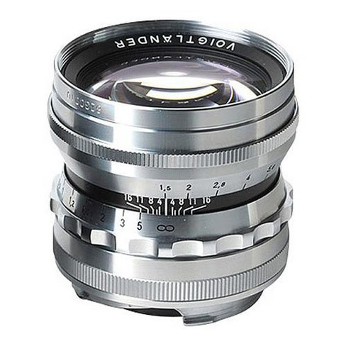 Voigtlander M 50mm f/1.5 Nokton Aspherical Lens - Leica M Mount Lens - Silver - image 1 of 1