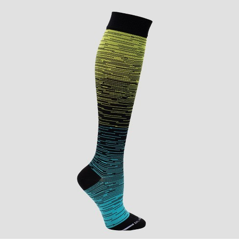 9402c08c6 Dr. Motion Women's Mild Compression Knee High Socks - Sport Ombre ...