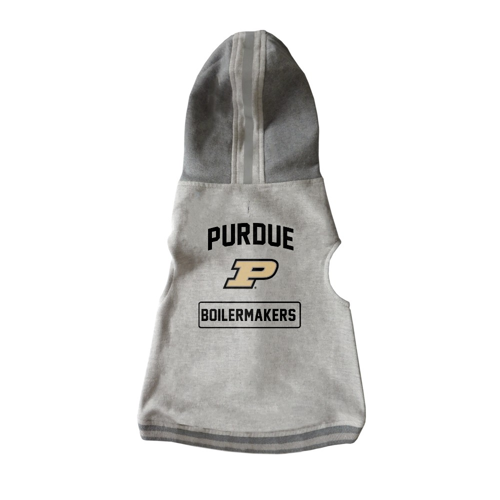 Purdue Boilermakers Little Earth Pet Hooded Crewneck Shirt - 3XL, Multicolored