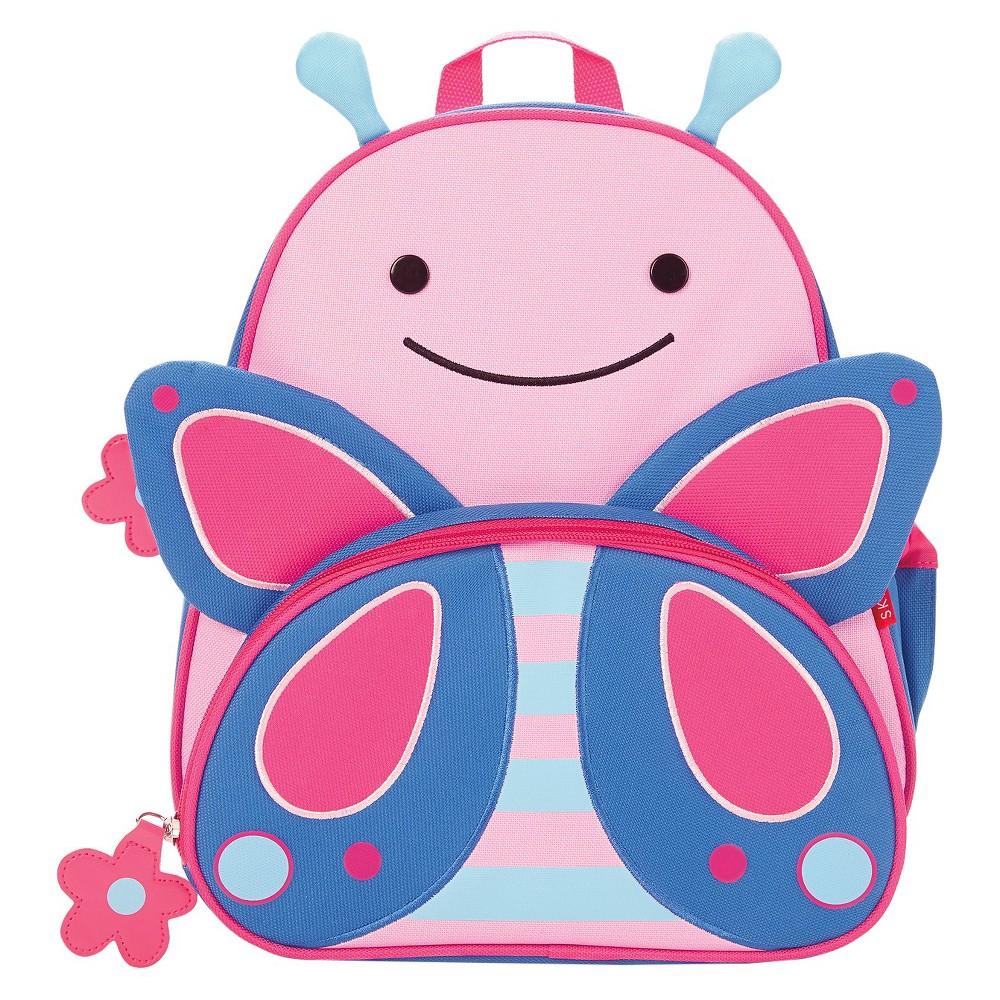 Skip Hop Zoo Little & Toddler Kids' Backpack - Butterfly, Green