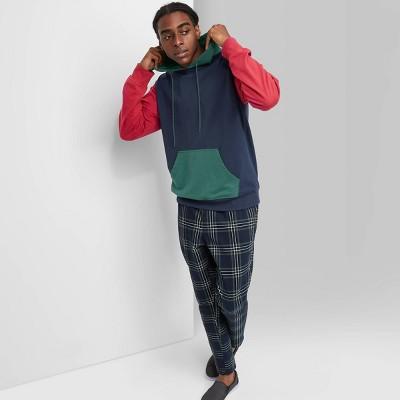 Men's Hooded Colorblock Sweatshirt - Original Use™ Navy