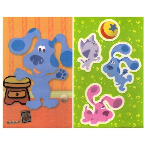 and Friends - Peel & Stick - 5 Window Clings - Blues Clues.. - image 1 of 3