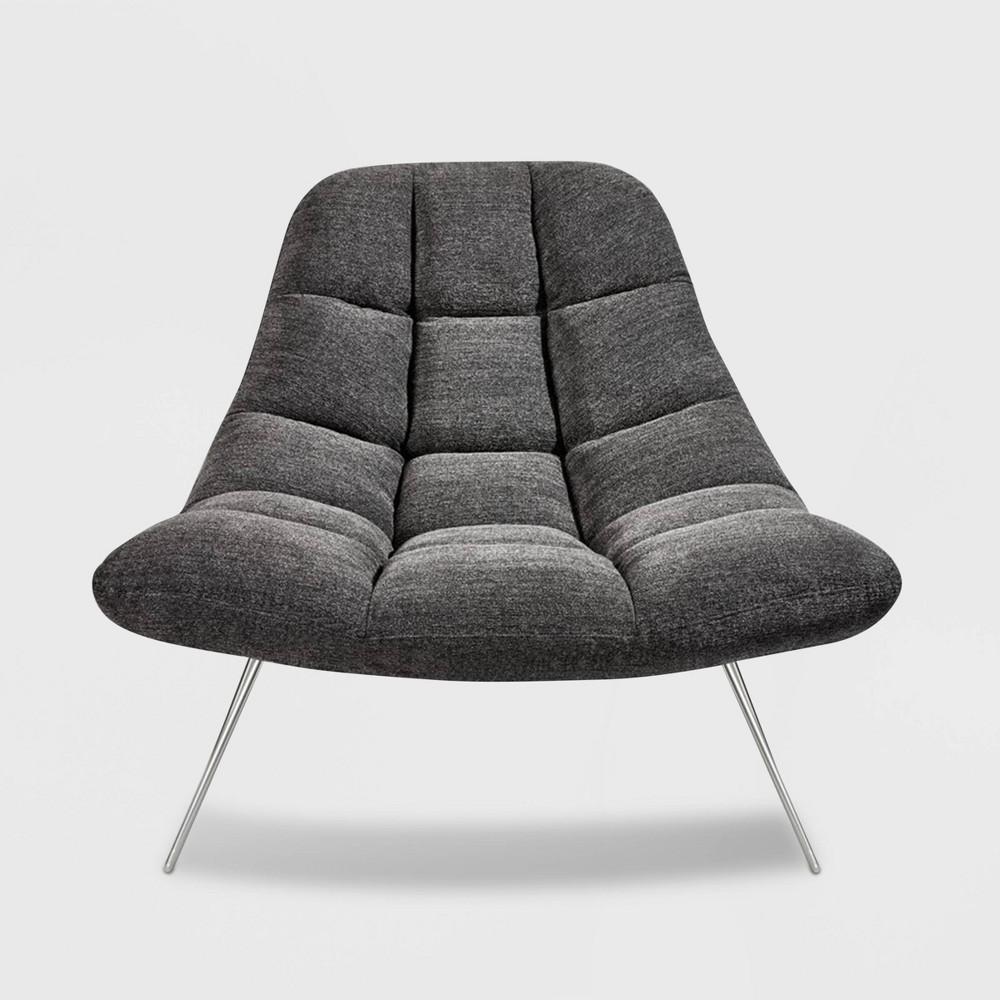 Bartlett Chair Dark Gray - Adesso