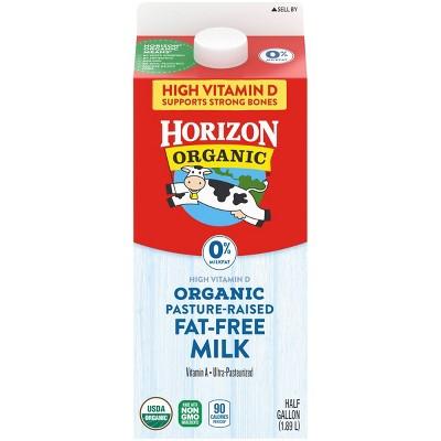 Horizon Organic Skim Milk - 0.5gal
